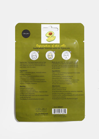 Avocado Skin Cell Regeneration Facial Sheet Mask