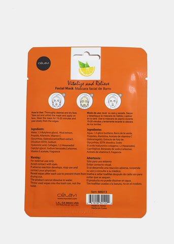 Vitamin C Facial Sheet Mask