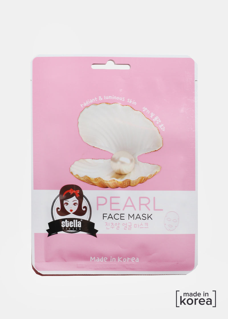 Pearl Sheet Face Mask
