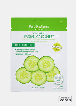 Pure Radiance Sheet Mask- Cucumber Facial