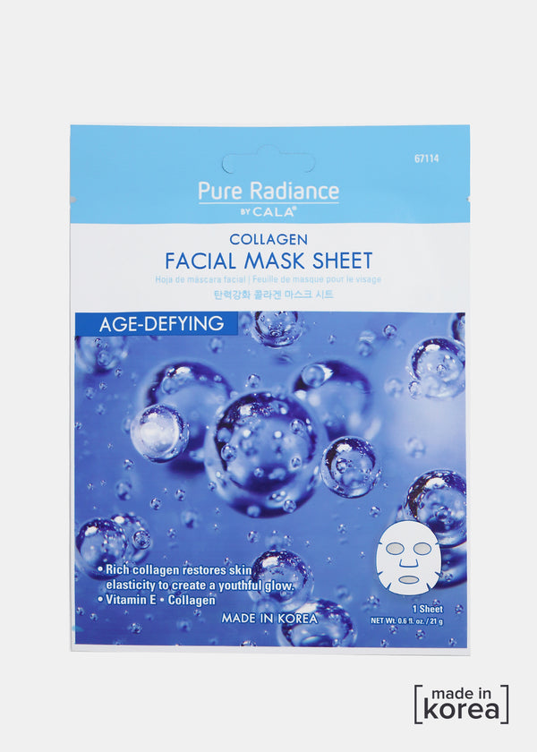 Pure Radiance Sheet Mask- Collagen Facial