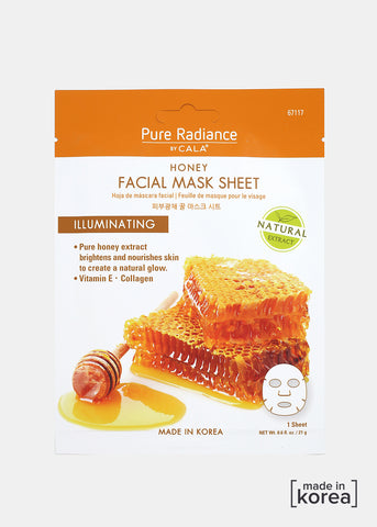 Pure Radiance Sheet Mask- Honey Facial