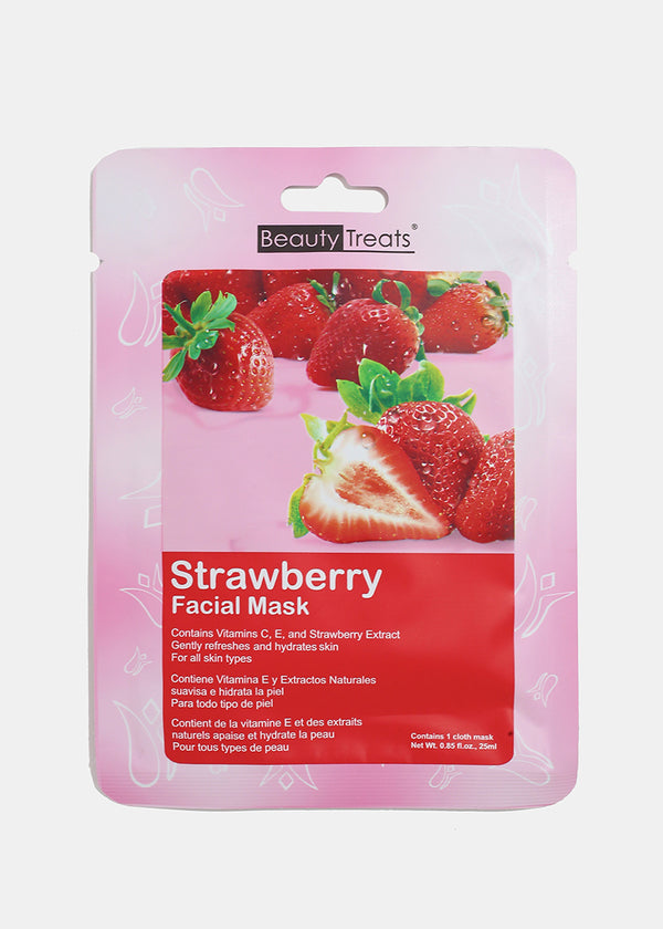 Strawberry Facial Sheet Mask