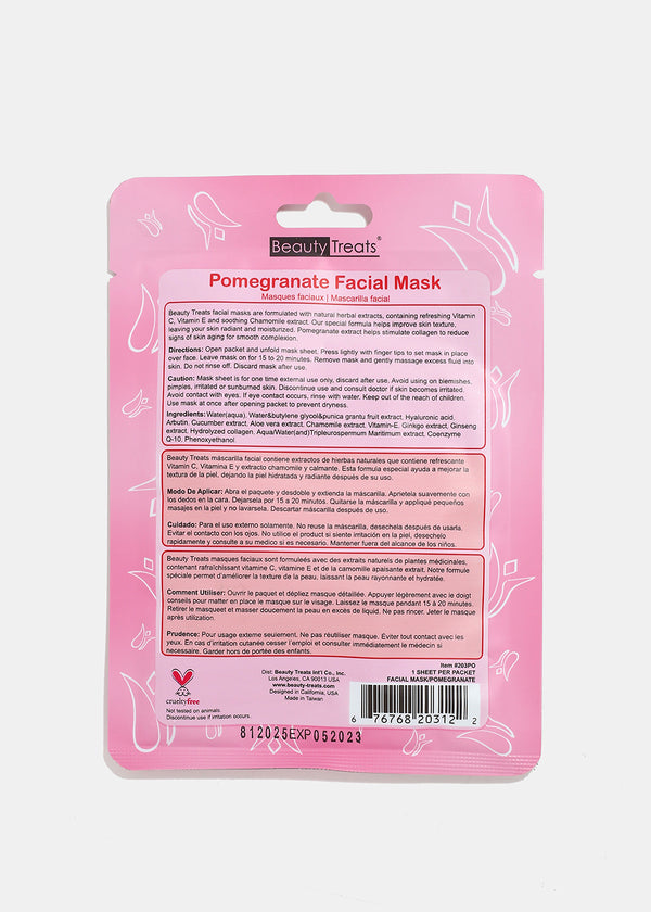 Pomegranate Facial Sheet Mask