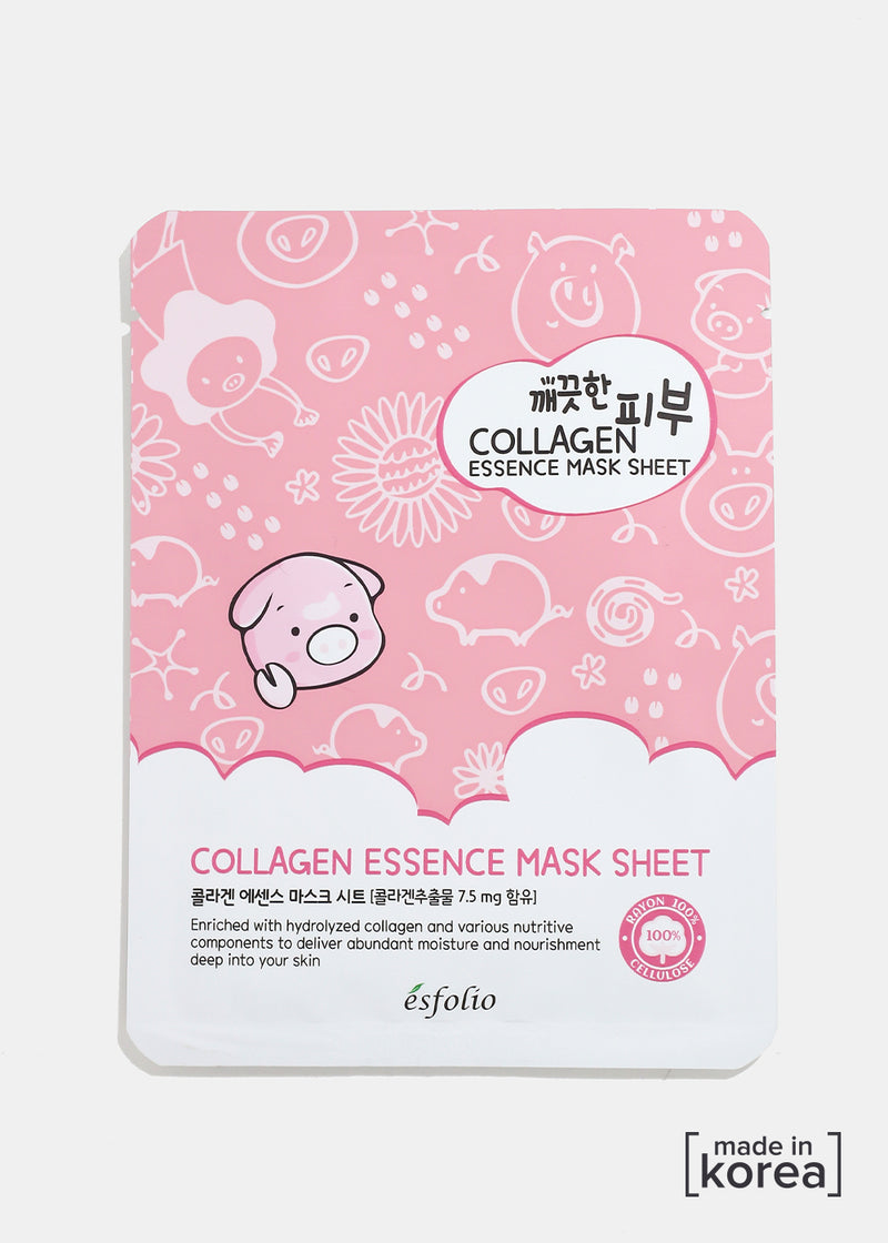 ESFOLIO Pure Skin Essence Mask- Collagen