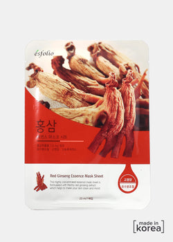 ESFOLIO Essence Mask Sheet - Red Ginseng