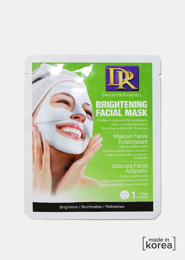 D&R Facial Sheet Mask- Brightening