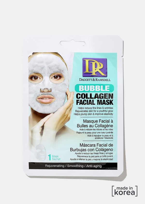 D&R Bubble Facial Mask- Collagen