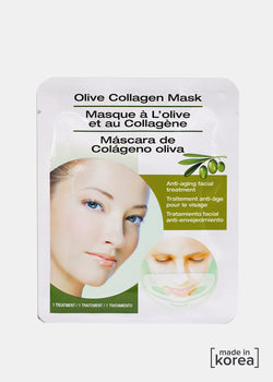 Olive Collagen Sheet Mask