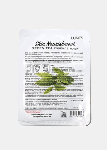 Lunes Essence Sheet Mask- Green Tea
