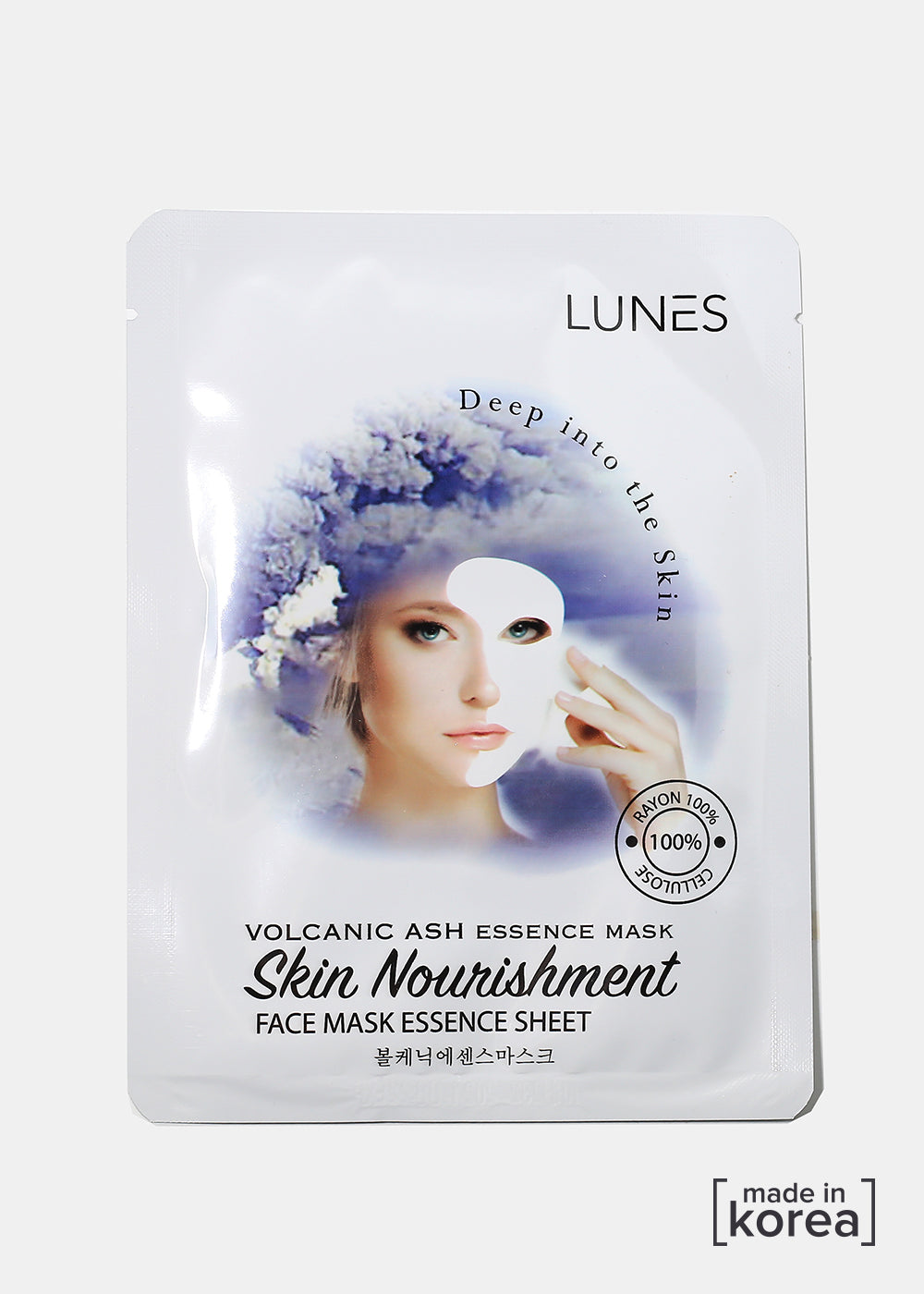 Lunes Essence Sheet Mask- Volcanic Essence