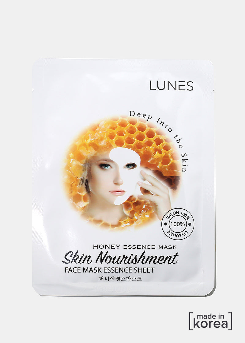 Lunes Essence Sheet Mask- Honey