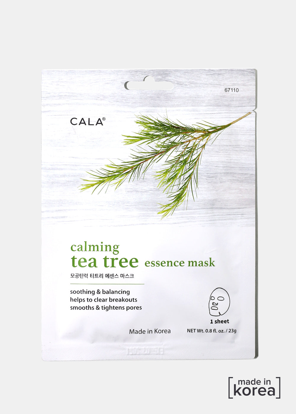 Cala Calming Tea Tree Sheet Mask