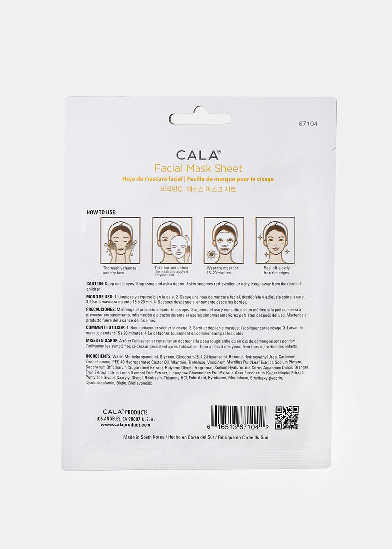 Cala Vitamin C Sheet Mask