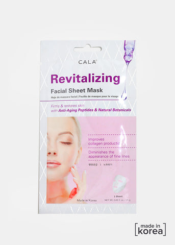 Cala Revitalizing  Sheet Mask