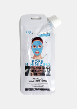 Pore Minimizing Metallic Wash Off Mask