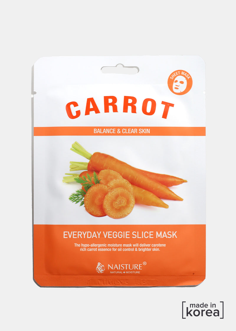Veggie Sheet Mask - Carrot