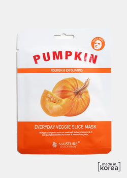 Veggie Sheet Mask - Pumpkin