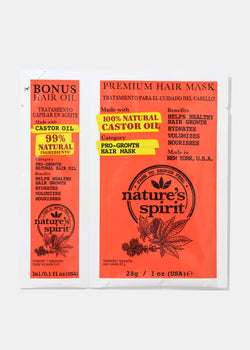 Nature's Spirit Hair Oil & Mask- Castor Oil