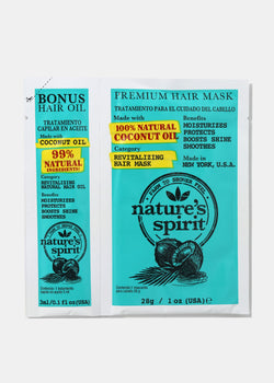 Nature's Spirit Hair Oil & Mask- Coconut Oil