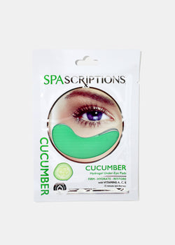 Hydrogel Cucumber Under-Eye Pads