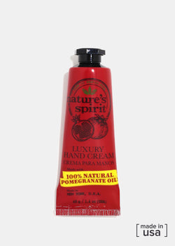Nature's Spirit Hand Cream- Pomegranate