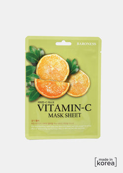 Baroness Sheet Mask- Vitamin C