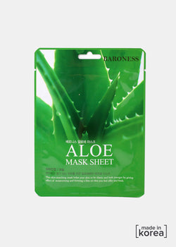 Baroness Sheet Mask- Aloe