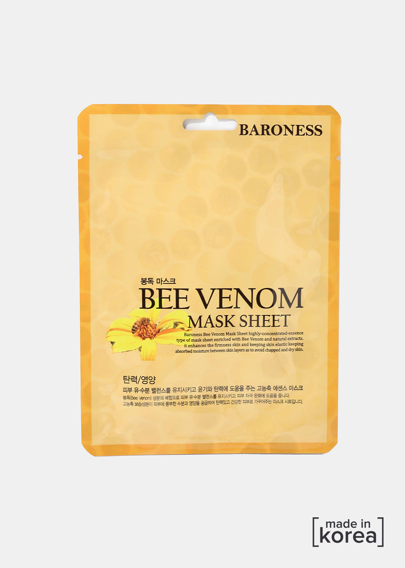 Baroness Sheet Mask- Bee Venom