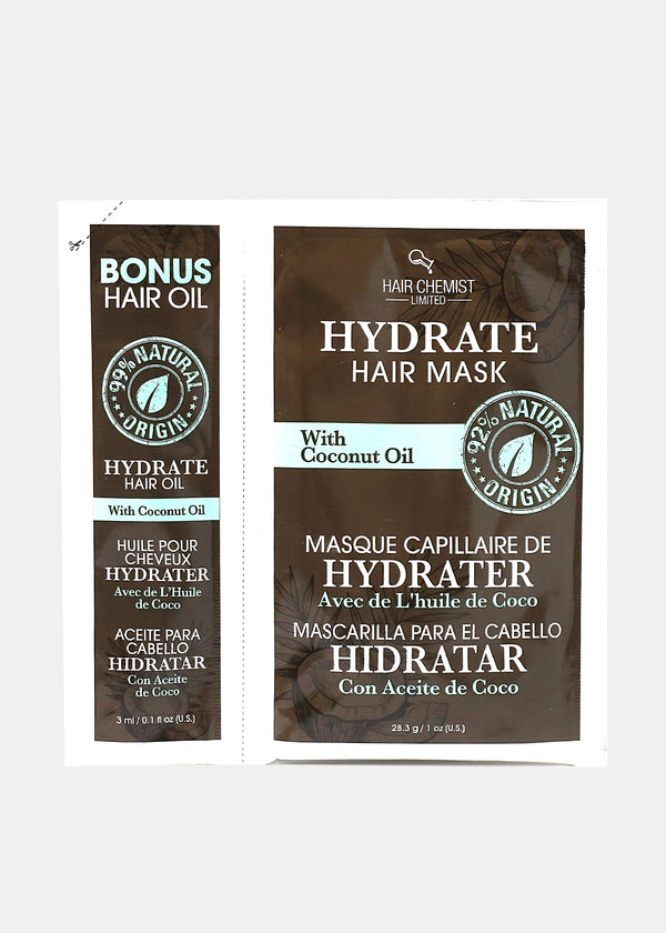 Hair Chemist- Hydrate Hair Mask and Oil