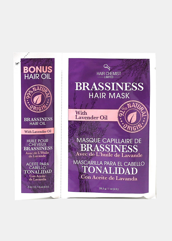 Hair Chemist- Brassiness Hair Mask and Oil