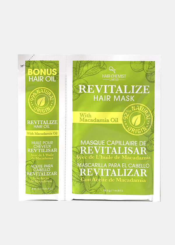 Hair Chemist- Revitalize Hair Mask and Oil