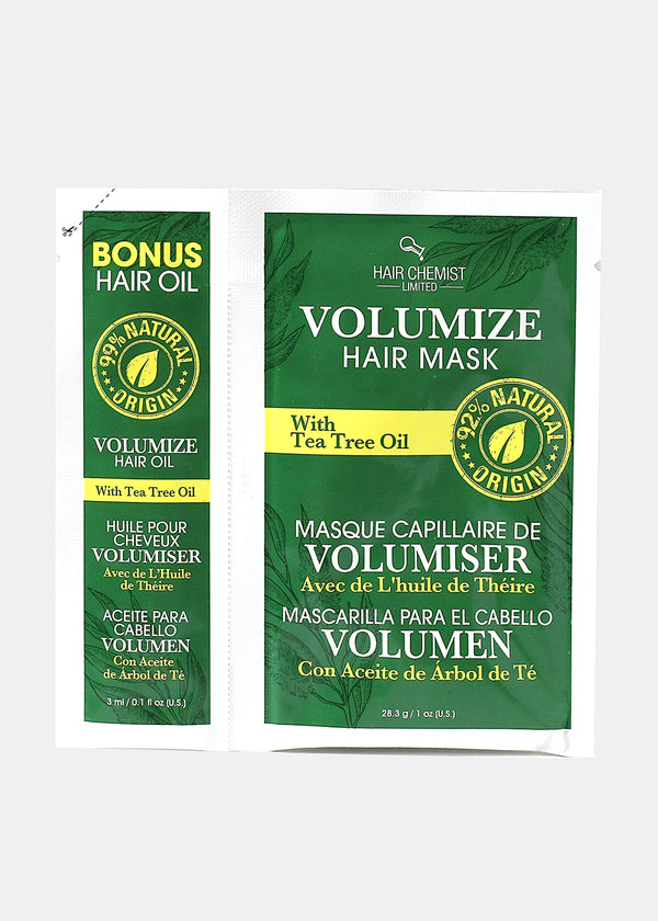 Hair Chemist- Volumize Hair Mask and Oil