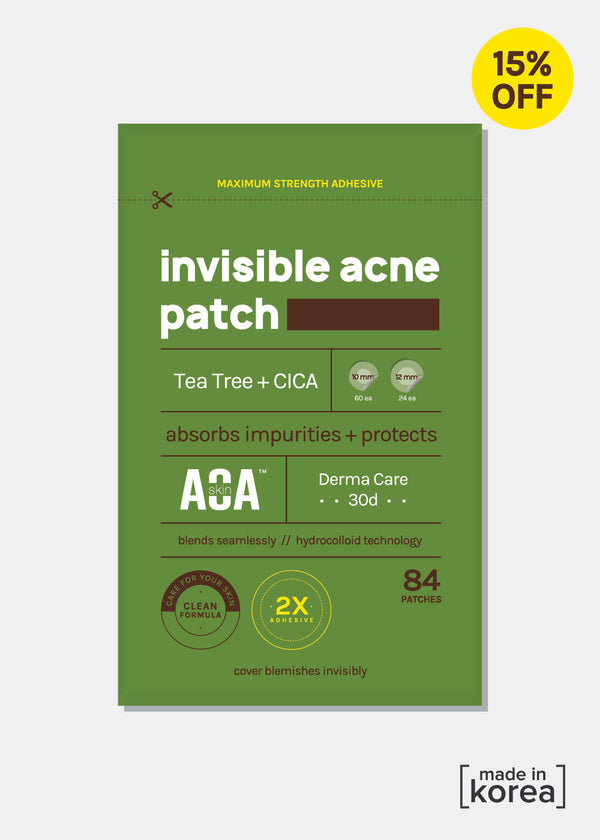 AOA Skin Invisible Acne Patches 6 Pack