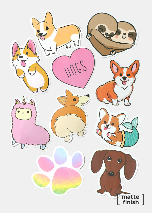 Oki Sticker- Love Dogs