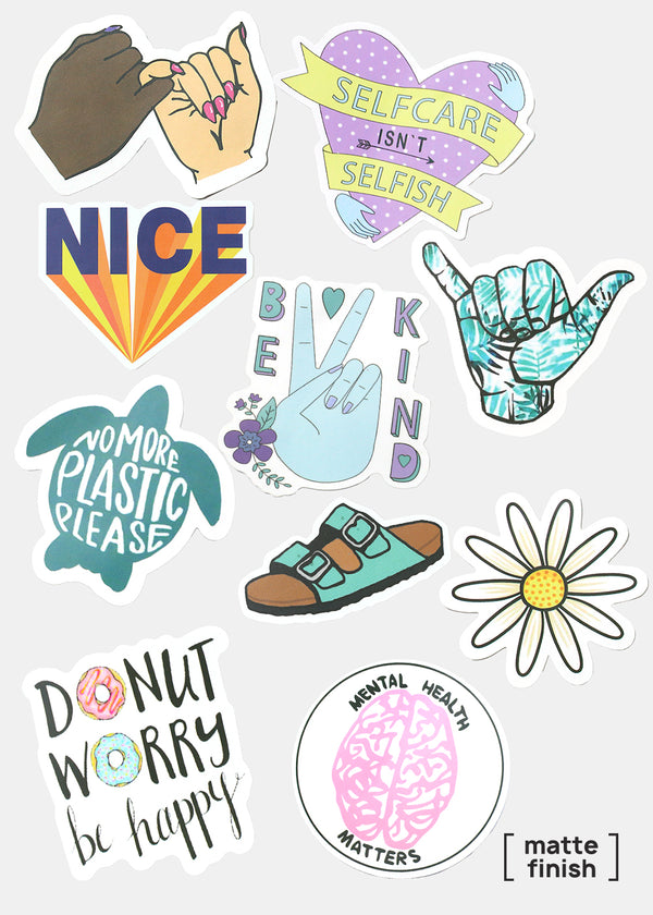Oki Sticker- Selfcare Isn't Selfish