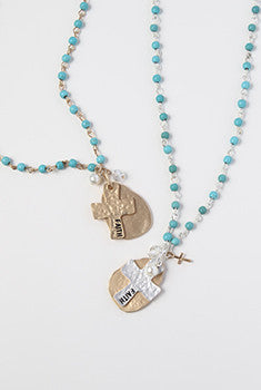 Cross & Faith Pendant Necklace