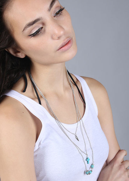 Have Faith Layered Necklace