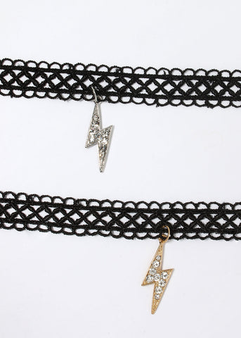 Lightning Bolt Choker