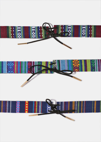 Southwestern Embroidered Choker