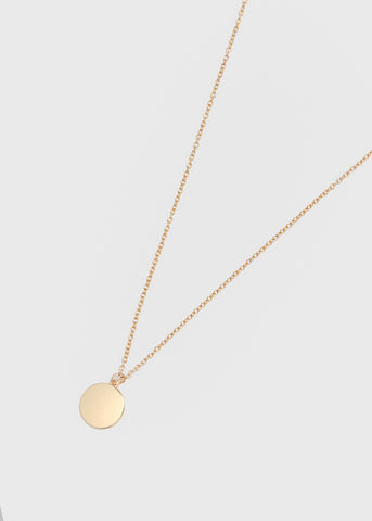 Disc Chain Necklace