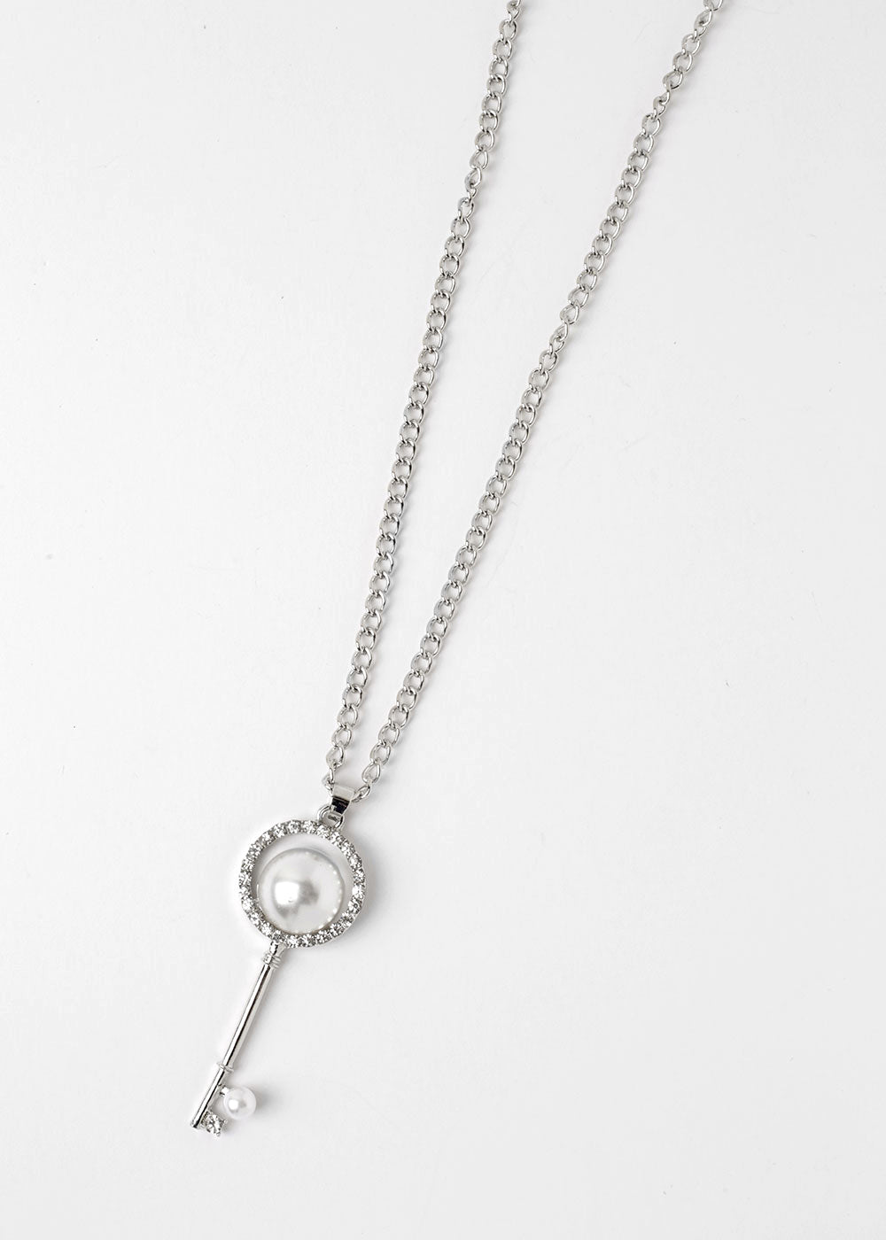Pearl Key Necklace – Shop Miss A
