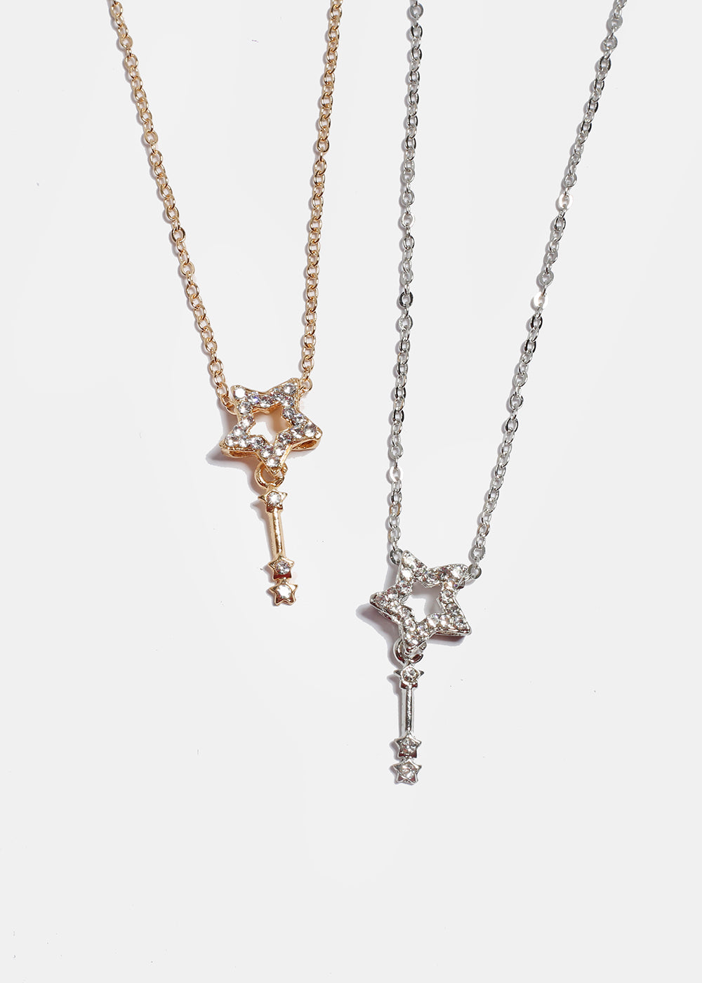 Shooting Star Pendant Necklace