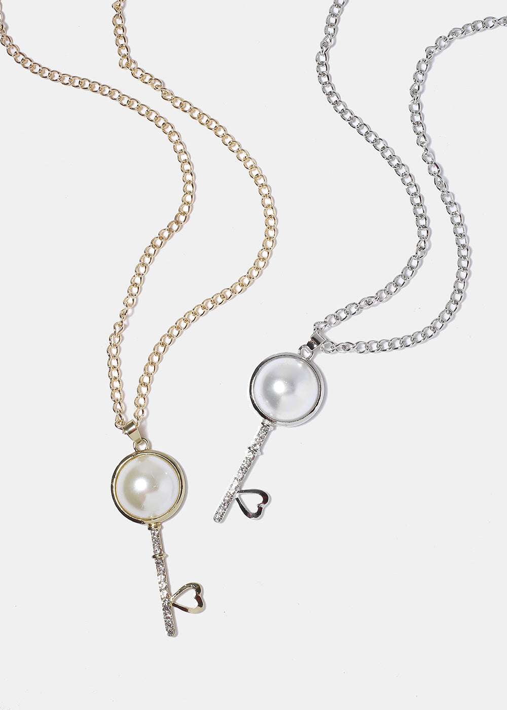 Pearl Key Necklace