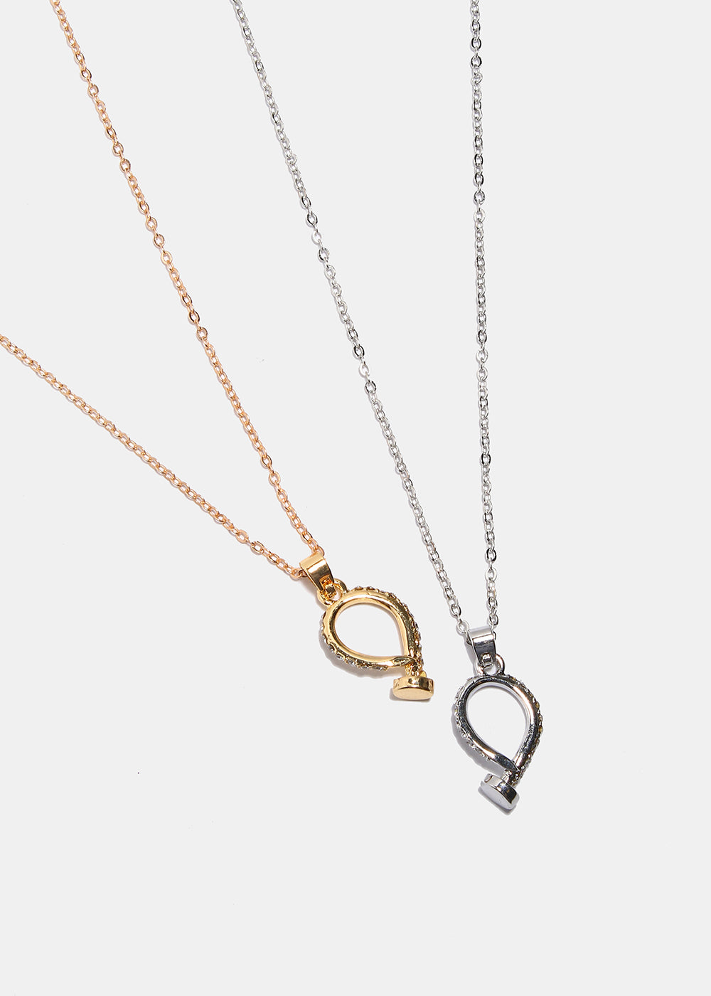 Loop Nail Pendant Necklace