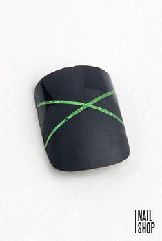 Nail Striping Foil-Laser Green