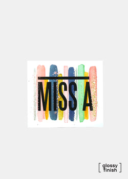 OKI Sticker- Miss A Pastel