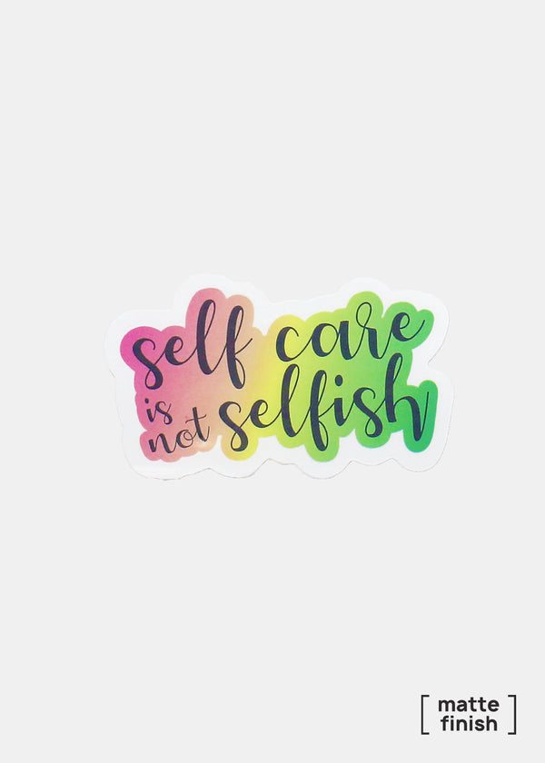 Official Key Items Sticker- Self Care is not Selfish