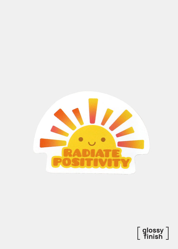 Official Key Items Sticker- Radiate Positivity