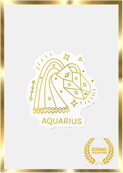 OKI Sticker- Aquarius Zodiac